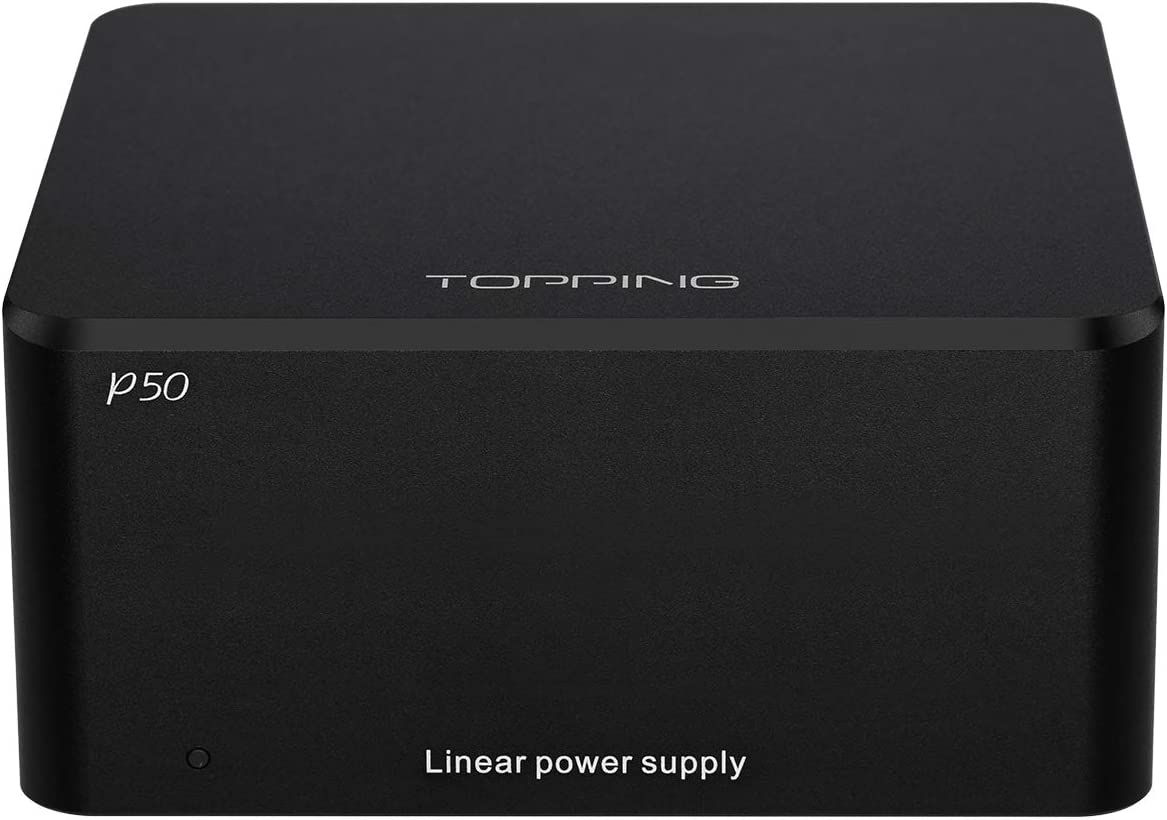 Topping P50 Linear Power Supply for Topping D50 D50s DX3 Pro A50 110V-240V Black