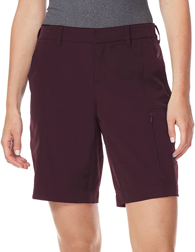 NWT 32 Degrees Ladies/' Woven Short with Stretch Black Size XS