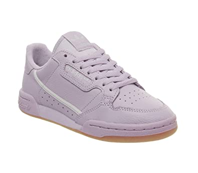 classic fit 3a7fc b2350 Amazon.com   adidas Originals Continental 80 W Shoes 5.5 B(M) US Women    4.5 D(M) US Soft Vision Grey One F17 grey Two F17   Fashion Sneakers