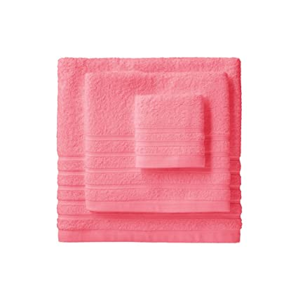 Barceló Hogar 05040010006 Juego de 3 toallas para bidé, lavabo y ducha, modelo Diamante