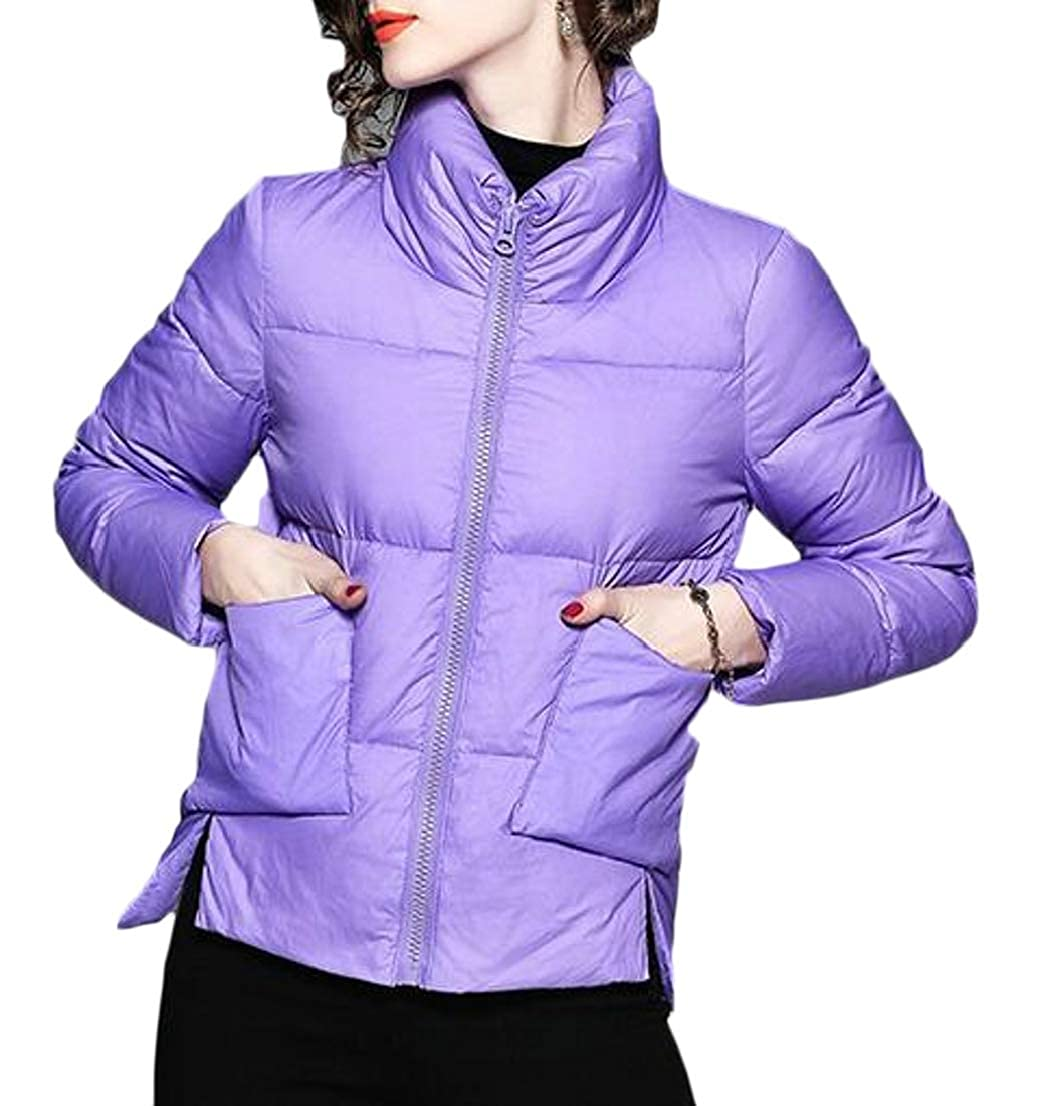Generic Womens Packable Ultra Light Weight Padded Down Jacket