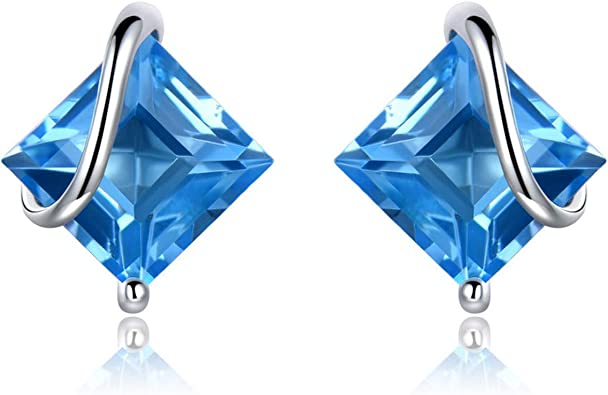 Party Sterling Silver Hollow Triangle With Zircon and Pearl Earrings Bridesmaid Gift Stud Earrings