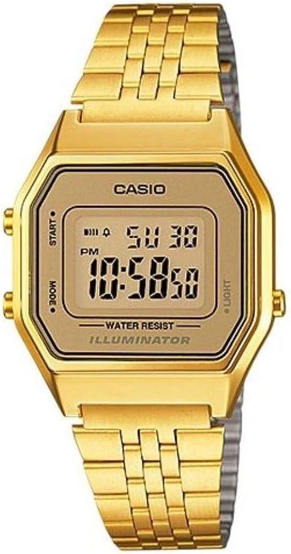 CASIO Reloj de Pulsera LA-680WG-9: Casio: Amazon.es: Relojes