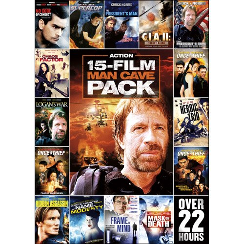15-Movie Action Pack 1 [DVD] [Region 1] [US Import] [NTSC]