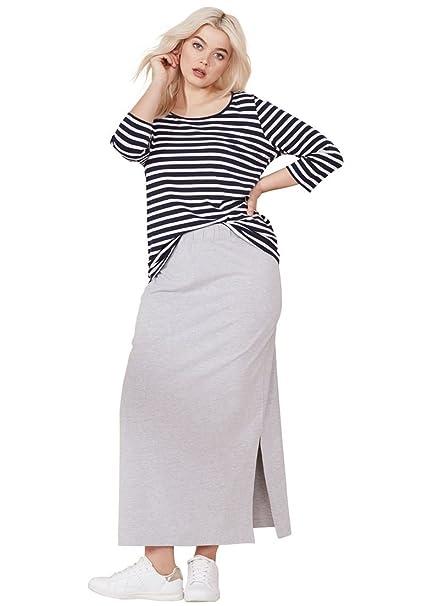 78148bb1371 Ellos Women s Plus Size Knit Maxi Skirt at Amazon Women s Clothing ...