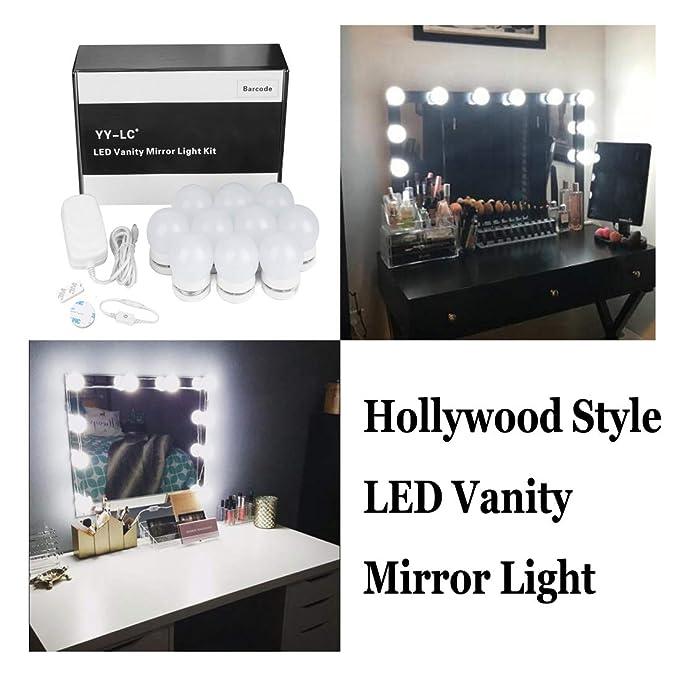 Luces Led Para Espejo Waneway Estilo Hollywood Kit De Luces Para