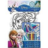 Disney Frozen Colouring Set (Colouring Sheets, Pencils, Stickers) - FNCST