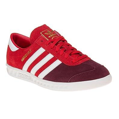 buy online 4d759 e8b93 adidas Hamburg Garcon Baskets Mode Rouge