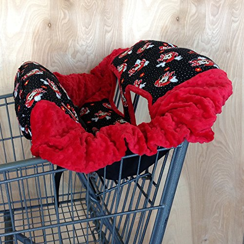 Shopping Cart Cover- Minnie Mouse/ (Mouse Cart)