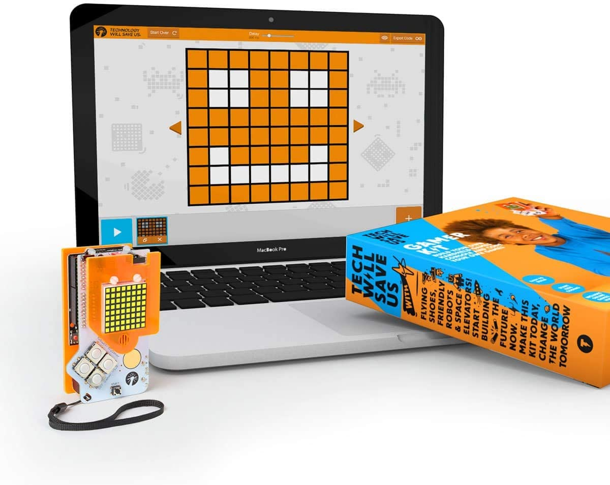 Tech Will Save Us, Gamer Kit (Ready Soldered) | Educational STEM Toy, Ages 12 and Up