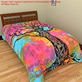 Modern Cotton Single Bedsheet Bedspread Bedcover Tapestry Tapestries Wall Hanging Beach Throw Table Ta509
