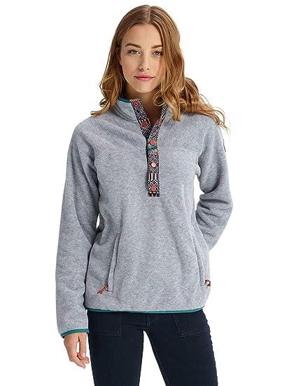 1a67350844 Amazon.com: Burton Women's Hearth Fleece Pullover: Sports & Outdoors