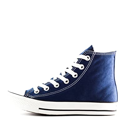 dac4d7d8802 ... where can i buy converse chuck taylor all star hi top navy canvas shoes  with extra