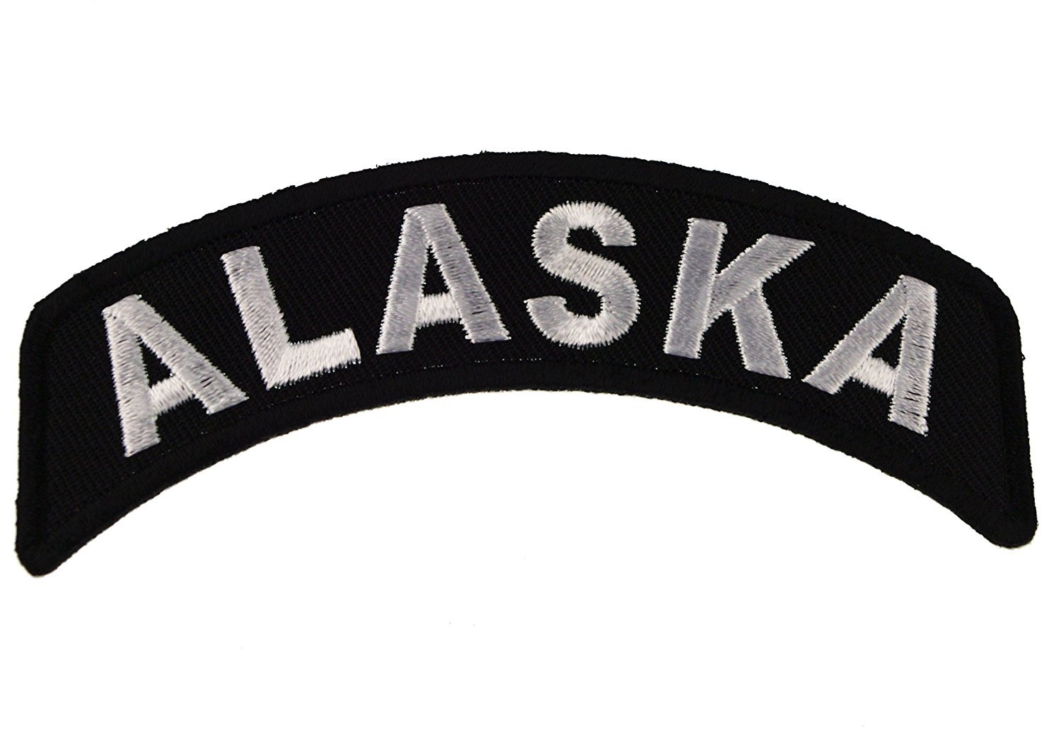 Alaska State Rocker Iron or Sew on Embroidered Shoulder Patch D37 by Sujak Military Items   B00B8AUZJ2