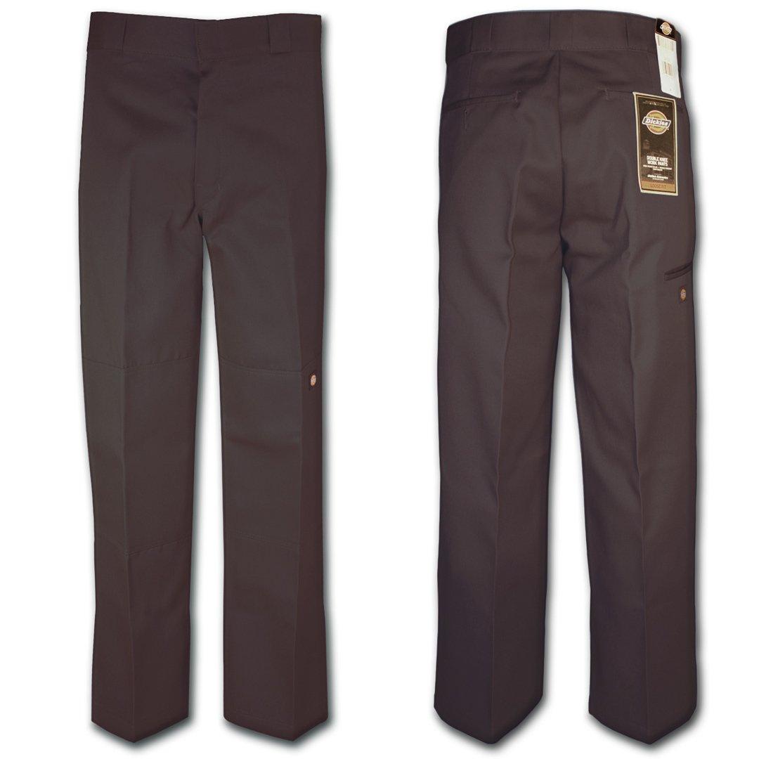 Dickies 85-283 Double Knee Work Pant Dark Brown 34W x 30L