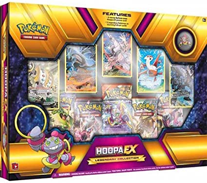 6f9d889014587d Image Unavailable. Image not available for. Color: Pokemon TCG Hoopa EX  Legendary Premium Collection Box Sealed