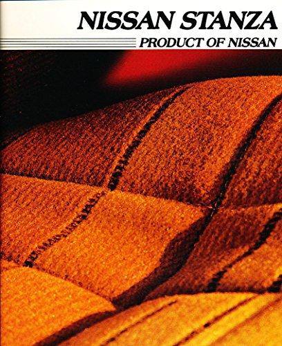 1982 1983 Nissan Stanza 16-page Original Car Sales Brochure Catalog