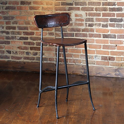 William Sheppee USA Rocket Bar Stool - Hand Forged Iron Bar Stool