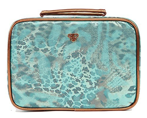 PurseN Prima Elite Jewelry Case (Metallic Turquoise)