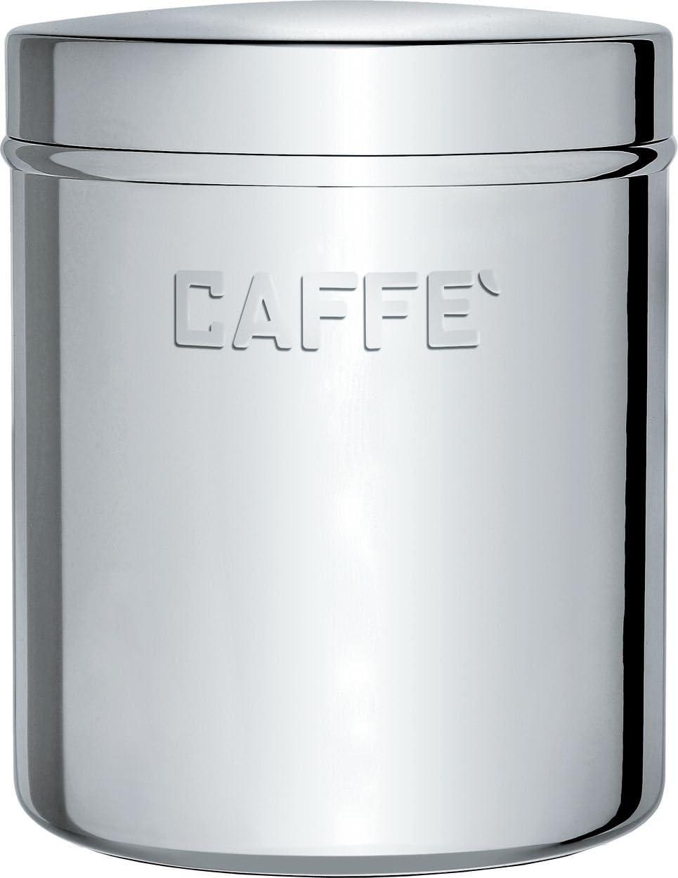 Lucido Alessi UTA1383//C Barattolo in Acciaio Inossidabile 18//10 caff/è