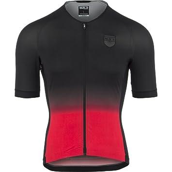 826fb43ec Nalini Crit Ti Short Sleeve Jersey-Black-Red-XL  Amazon.co.uk ...