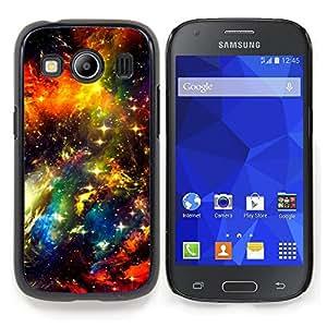 """Qstar Arte & diseño plástico duro Fundas Cover Cubre Hard Case Cover para Samsung Galaxy Ace Style LTE/ G357 (Universo Cielo Nebulosa del espacio Cosmos Estrellas"""")"""