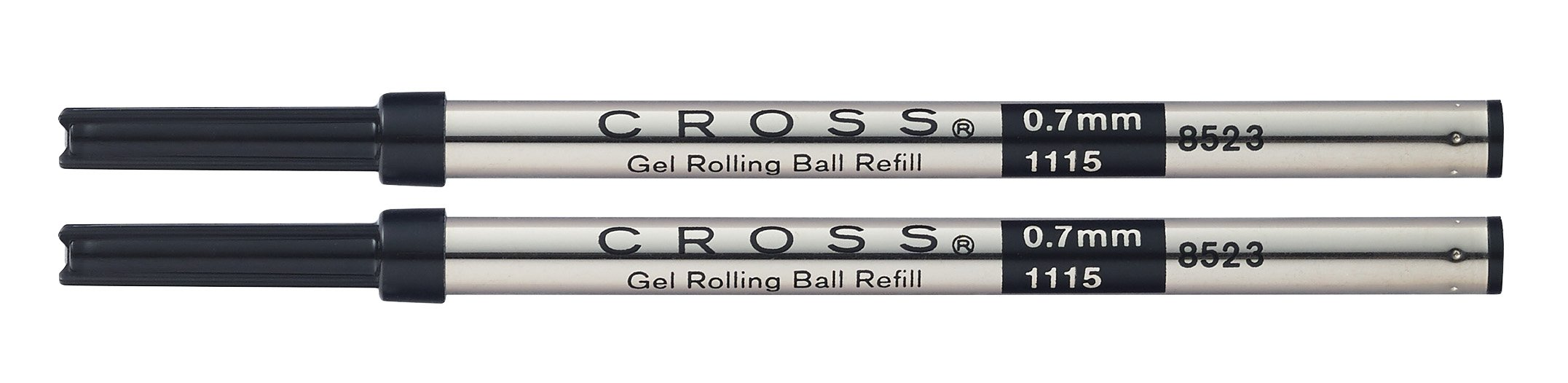 Cross 8523-2 Black Gel Rolling Ball Refills 2-Pack
