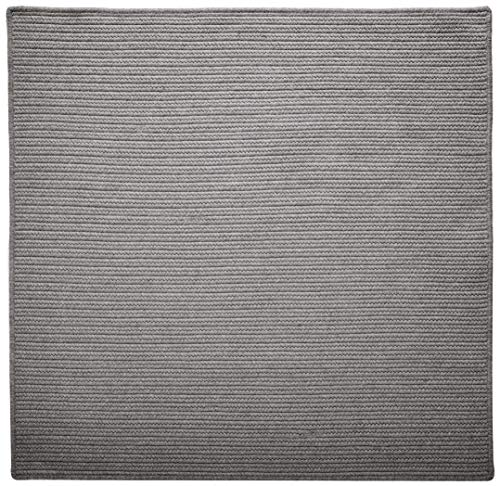 (Westminster Square Area Rug, 6 by 6-Feet, Light Gray)