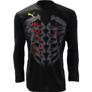 Para hombre Puma v3.08 trucos Retro Fútbol Camiseta De Portero de manga larga para negro, negro: Amazon.es: Deportes y aire libre