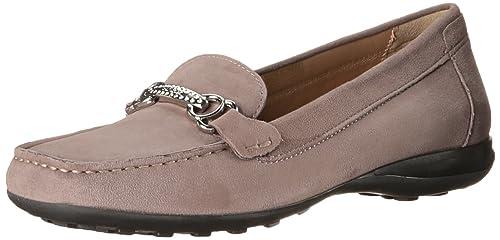Mocasines para mujer, color marrón , marca GEOX, modelo Mocasines Para Mujer GEOX DONNA EURO B Marrón: Amazon.es: Zapatos y complementos