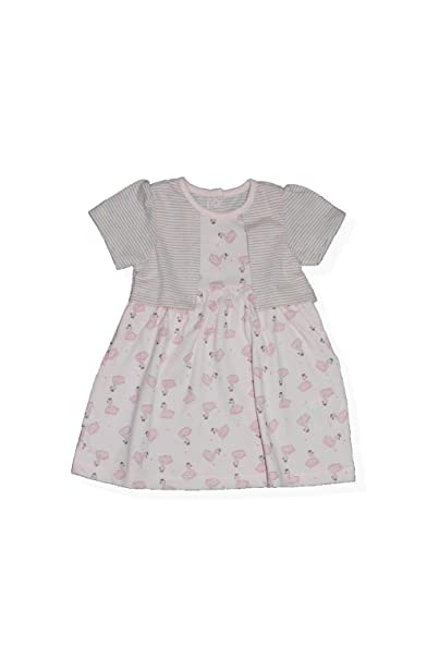 df36a24896564 Simply Unbox Baby Girls Girl Dress 3-6 Months Dresses Cotton Frock Clothes  Winter Party Wear  Amazon.in  Clothing   Accessories