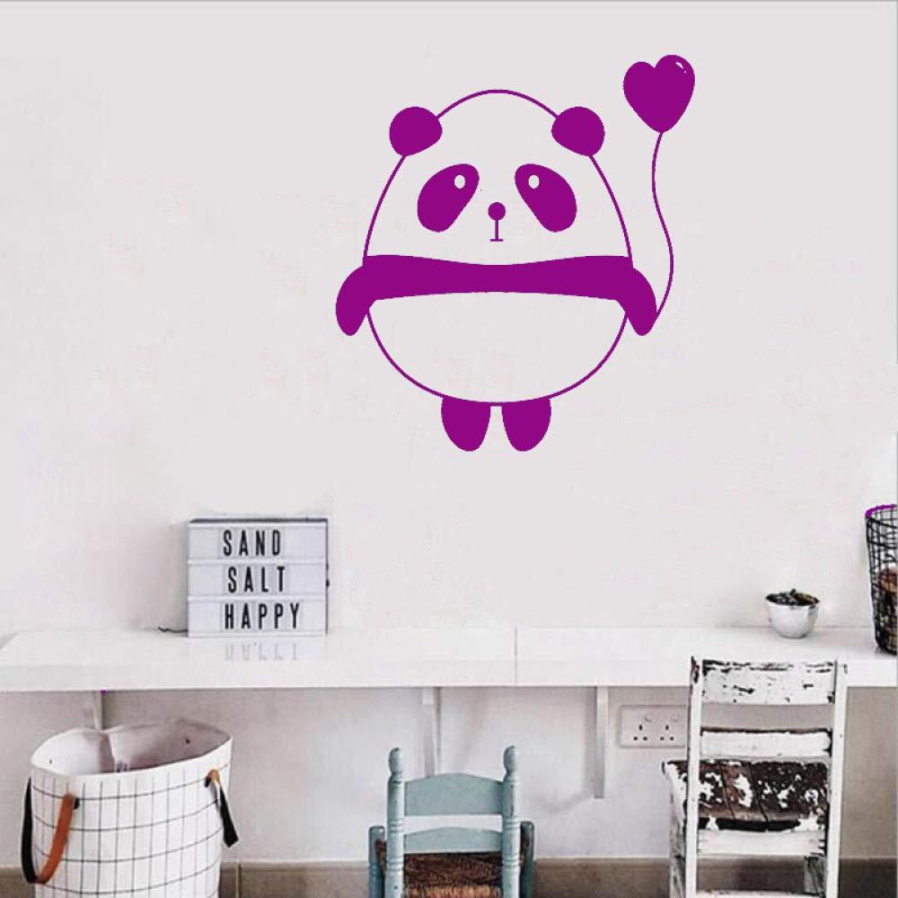 zhuziji Tatuajes de Pared Cute Cartoon Panda Balloon For Kids Room ...