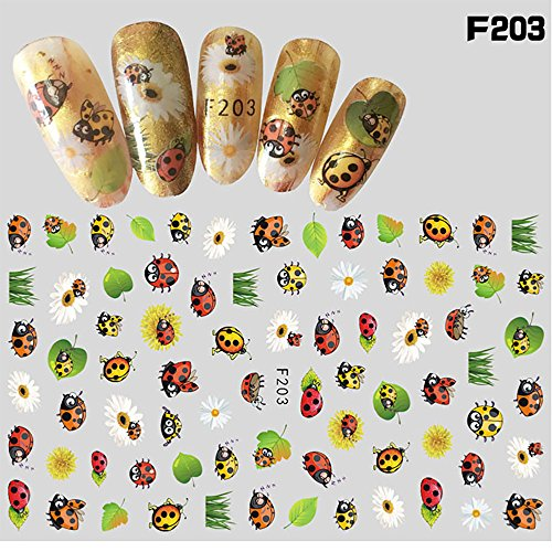 Nail Art Accessories,Babyee 1Pcs Women Nail Art Nial Sticker Halloween Designs Girl Beau Nail Tools