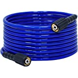 """YAMATIC Ultra Flexible Under Zero Pressure Washer Hose 3200 PSI 1/4"""" x 25 ft. Fit M22-14mm Thread Gas Power Pressure Washer &"""
