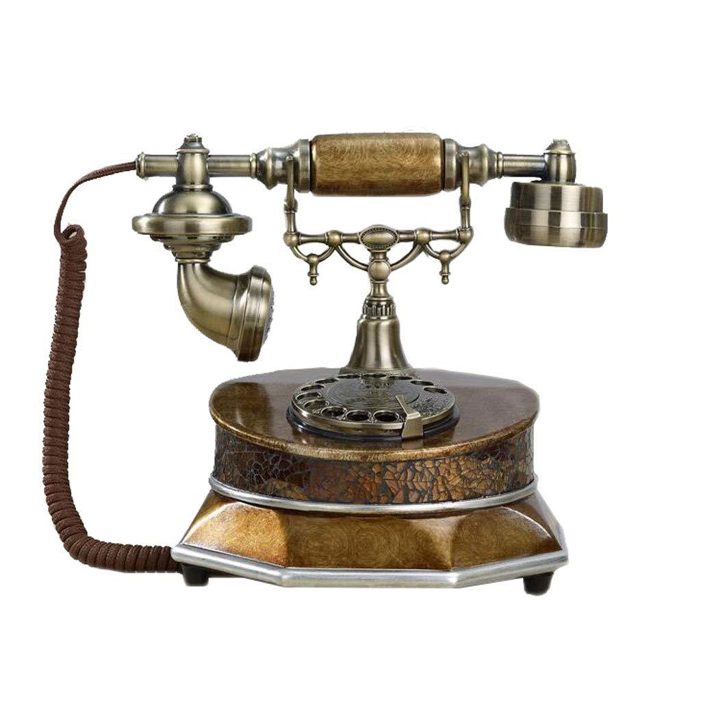 Teléfono Liuyu · Living Home Callback Retro Phone Bronce Metal ...