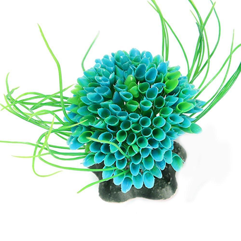 NiceButy Plastique Plantes d'aquarium Fish Tank Décoration Plante d'eau Artificielle Aquarium Ornements décor