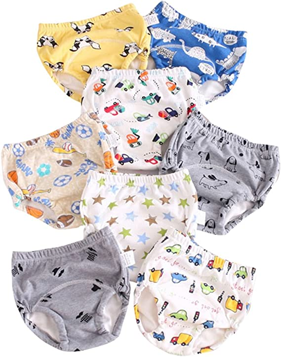 Skhls Baby Toddler 4 Layer Assortment Cotton Training Pants