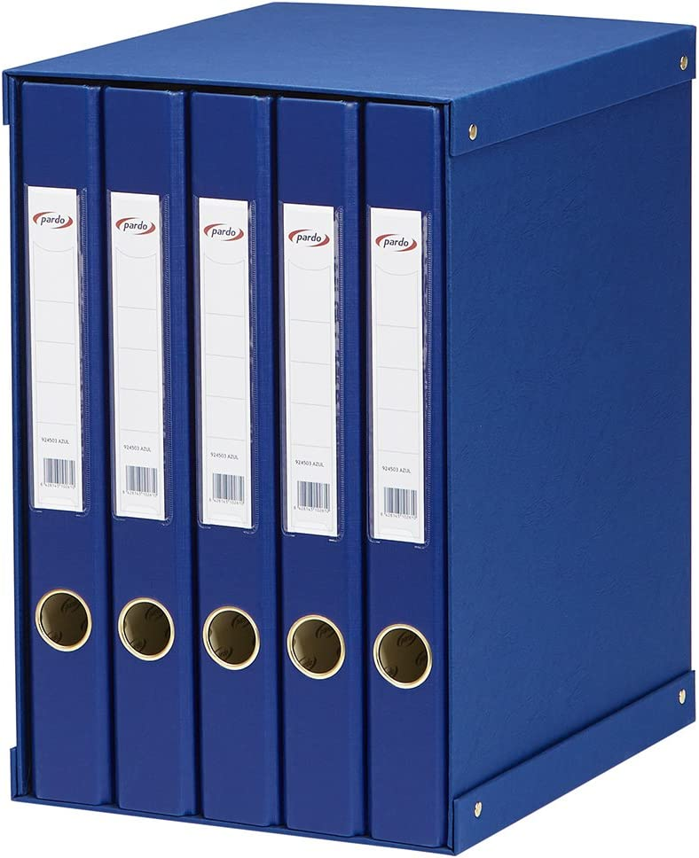 Colour Blue Taupe Filing Module 5/924503/Folio 1 Units Contained