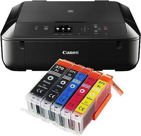 Impresora multifunción Canon PIXMA, modelo MG5750/MG-5750 negro ...