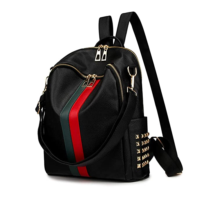 Artwell Women Backpack Purse Mini Leather Rucksack Fashion Small Daypack Travel  Shoulder Handbag for Girls ( 5ea9f18fcac78