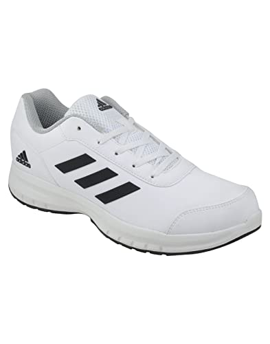 Adidas white sports shoes cheap >off39% più grande catalogo sconti