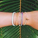Pura Vida Rose Quartz Bracelet - Handcrafted with