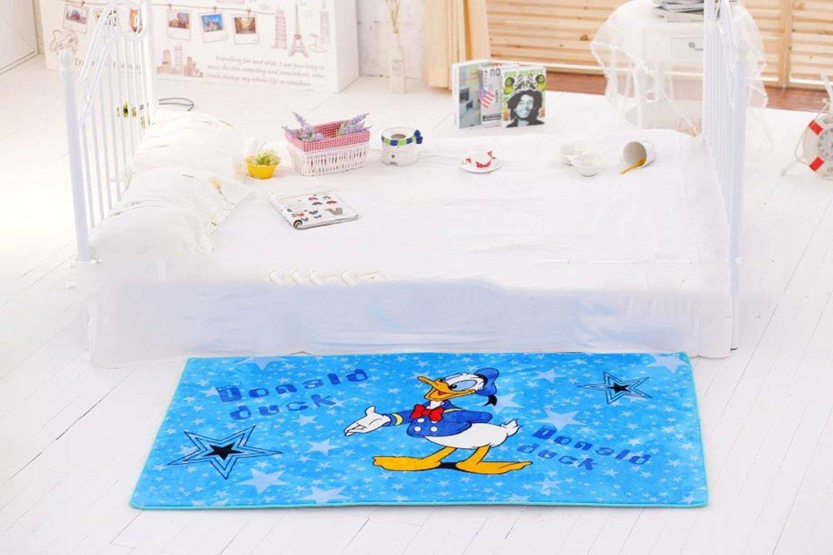 EKEA-Home Cartoon Donald Duck Skid-proof Washable Big Carpet Kids Nursery Entertainment Floor Area Rugs Baby Crawling Mat For Living Room/Bed Room Duck,150x100cm/59.1'' x39.4 by EKEA-Home®