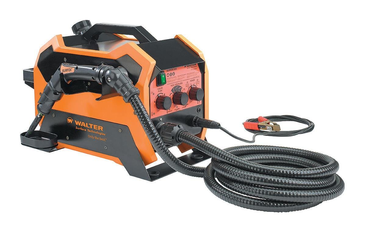 Walter Surface Technologies 54D215 SURFOX 205 Weld Cleaning System for TIG & spot welds on Stainless Steel and Aluminum