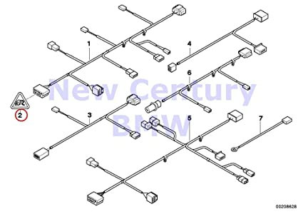bmw genuine wiring set seat sleeve housing cap 128i 135i m coup� x1 28i x1  28ix