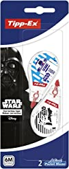 Star Wars Tipp-Ex Mini Pocket Mouse Correction Tapes 2 Pack