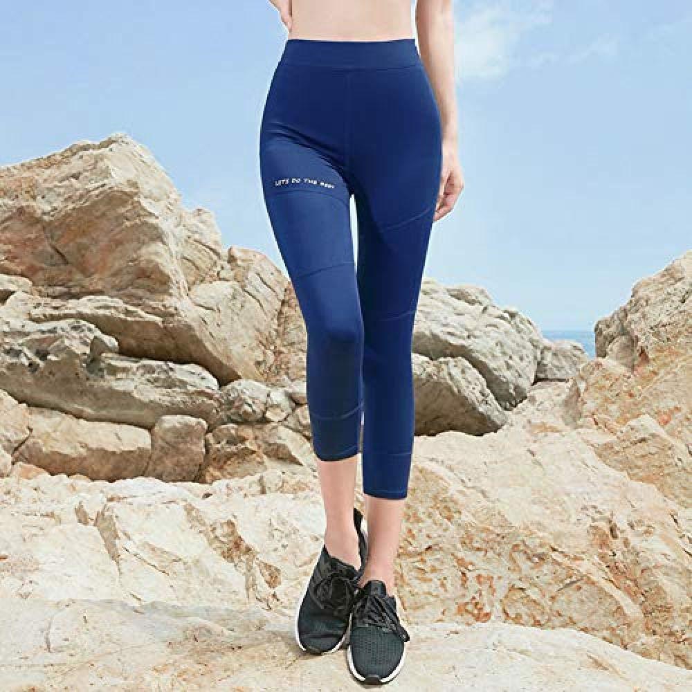MJXVC Yogahosen,Gamaschen,Eignung Yogahosen, Leggings, Fitness Sexy Stretch Knöchel Fitness Laufbekleidung Trend Dance Cropped Hose