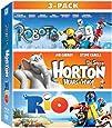 Robots, Horton Hears a Who, & Rio 3-Movie Collection [Blu-ray]