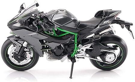 CRRQQ Motocicleta de Juguete de Modelo Kawasaki H2R ...