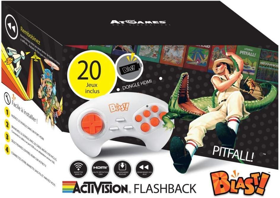 Amazon com: Activision Flashback Blast! - Electronic Games: Video Games